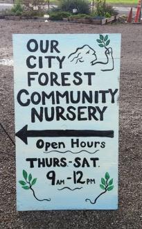 OCF open hours sign