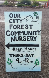 OCF open hours sign