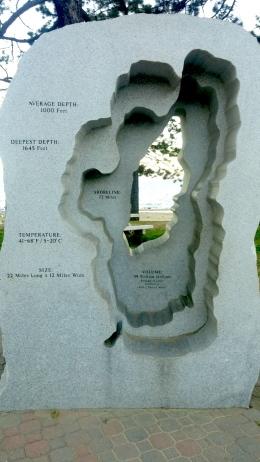 Lake Tahoe sculpture